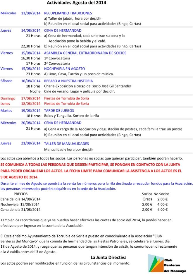 2014-08 - Actividades de Agosto.xlsx