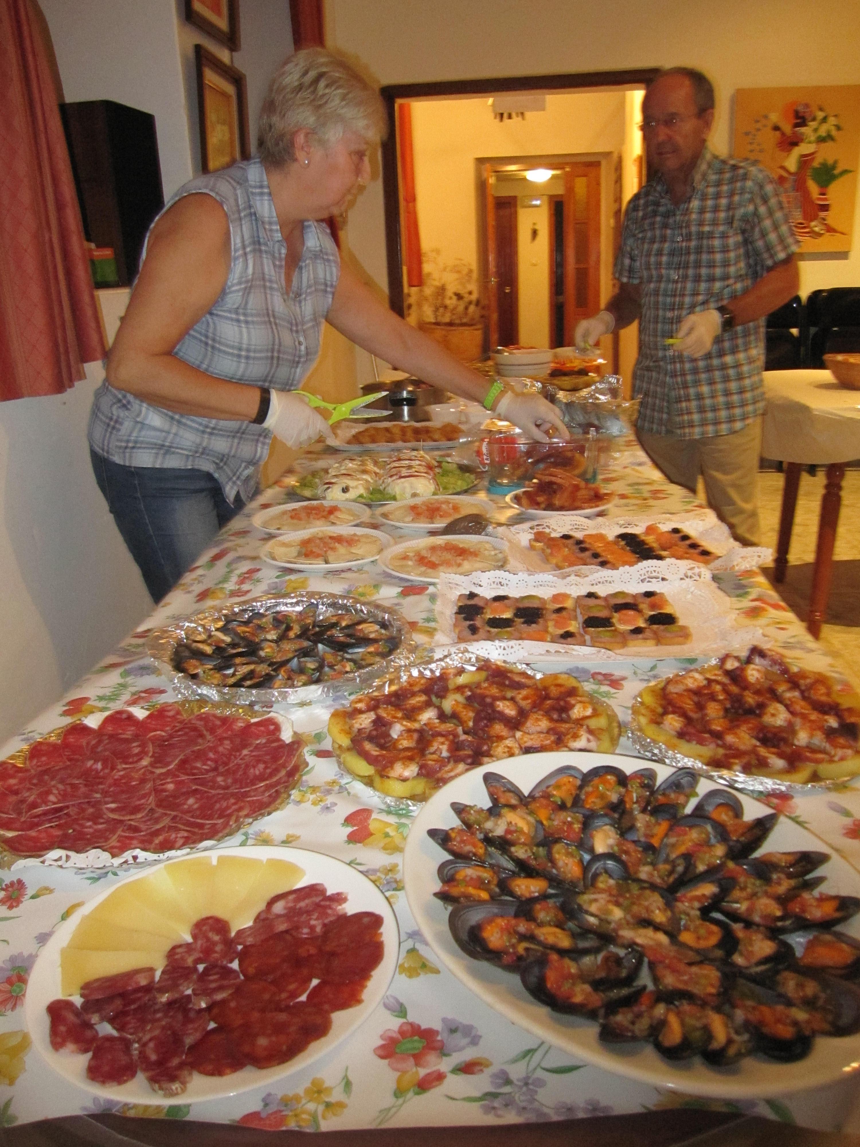 Asociaci n cultural y gastron mica club barderas del for Cena fria para amigos
